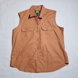 Cabelas For Women Soft Canvas Trail Button Vest
